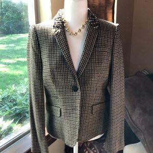 Oh so classy!Jewel collar JCrew Collection blazer